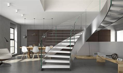 Custom Staircase Design   European Cabinets & Design Studios