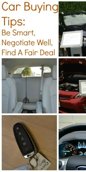 car buying tips be smart negotiate well and find a fair
