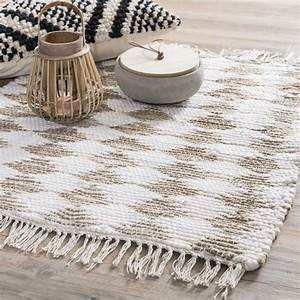 tapis en jute 50 x 80 cm baghera maisons du monde With tapis en jute