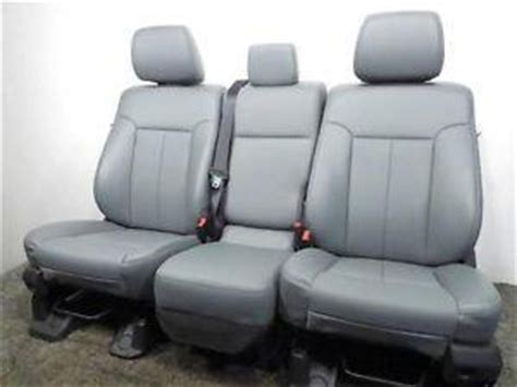 replacement ford super duty    vinyl work seats