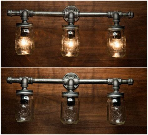 Rustic Bathroom Light Fixtures by Best 25 Rustic Vanity Lights Ideas On Vanity
