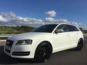 Audi A3 S Line 2010 : 2010 audi a3 sport s line badge pearl white with 19 inch gloss black alloys in manchester city ~ Gottalentnigeria.com Avis de Voitures