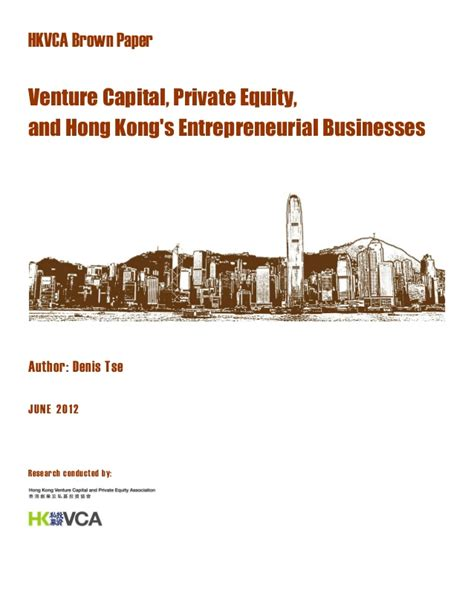 Venture Capital Resume by Study For Equity