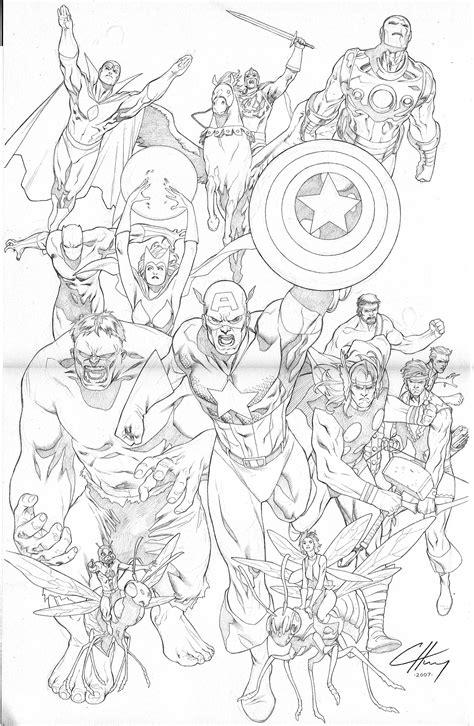 avengers assemble by clayton henry deviantart com on
