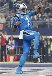 DAB Cam Newton Carolina Panthers