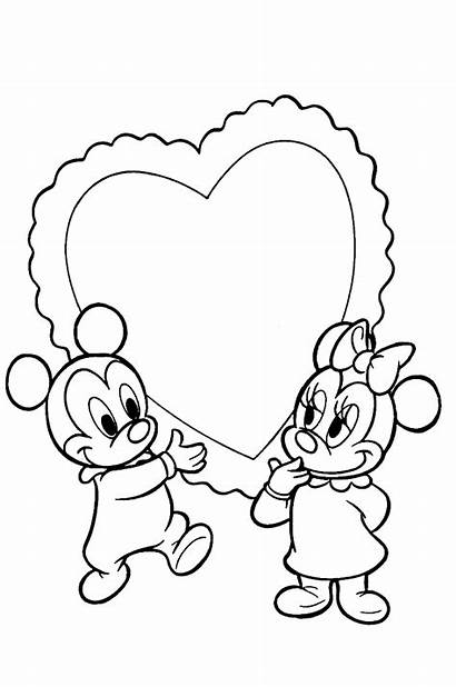 Coloring Disney Pages