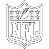 Coloring Nfl Pages Sports Thumbnail sketch template