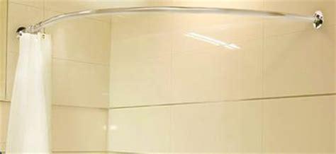 corner bath shower curtain rail csr2 shower curtain