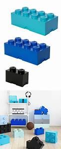 Aufbewahrungsbox Für Lego : spielzeugkiste im coolen lego stein design perfekte aufbewahrungsbox f r das kinderzimmer ~ Buech-reservation.com Haus und Dekorationen