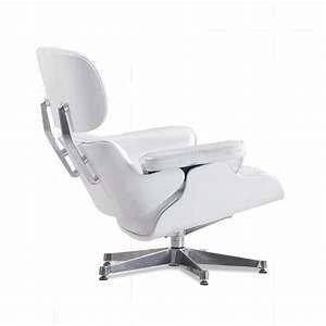 Eames Chair Weiß : eames lounge chair perlwei mit wei em holz 799 00 eu ~ Markanthonyermac.com Haus und Dekorationen