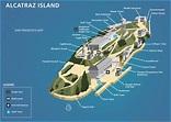 San Francisco Alcatraz Map - TravelsFinders.Com
