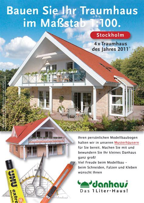 Danhaus 1 Literhaus! Stockholm Modellbaubogen