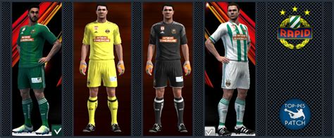 pes 2013 sk rapid wien 2016 17 kits by radymir pes patch