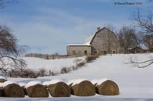 Winter Farm Scenes