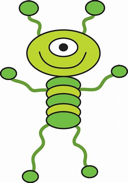 Outer Space Alien Clip Clipart Outerspace Cartoon