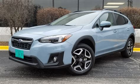 test drive  subaru crosstrek limited  daily