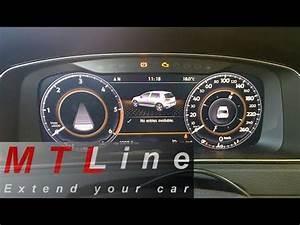 Digitales Info Display Seat : vw golf 7 facelift active golden display in active info ~ Kayakingforconservation.com Haus und Dekorationen