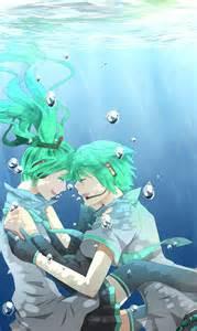 Hatsune Miku and Mikuo