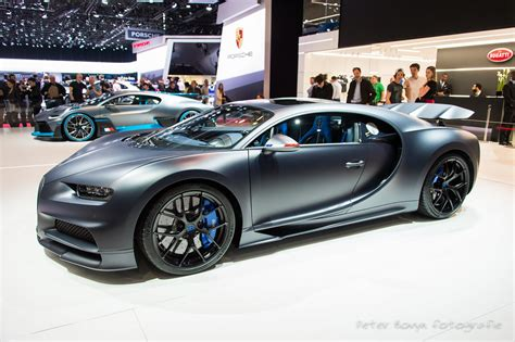 """Introduced for the 2019 model year, the bugatti chiron sport ditched insulation and excess weight to lose 40 lbs. Bugatti Chiron Sport """"110 Ans Bugatti"""" - n° 795024 