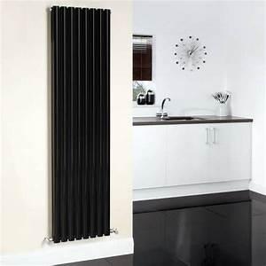 Hudson Reed Heizkörper : hudson reed design heizk rper 2 lagig vertikal schwarz ~ Watch28wear.com Haus und Dekorationen