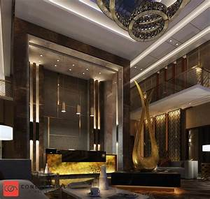Hotel, Entrance, Interior, Design, At, Ksa, Con, Creative, On