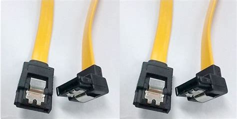 A Bend A Straight 50cm Sata Data Cable Serial