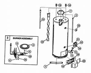 Water Heater Diagram  U0026 Parts List For Model 153333546