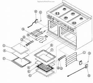 Parts For Dacor Er48dschng  Oven Parts 2 Parts