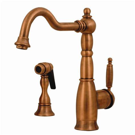 antique copper kitchen faucets shop whitehaus collection essexhaus antique copper 1