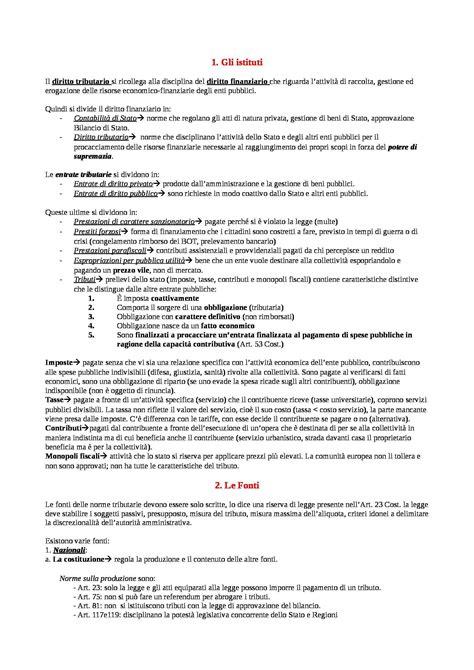 dispensa di diritto tributario riassunto esame diritto tributario prof contrino libro
