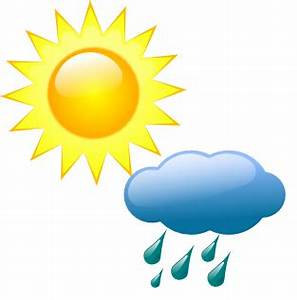 Weather Symbol Cloudy With Rain - ClipArt Best