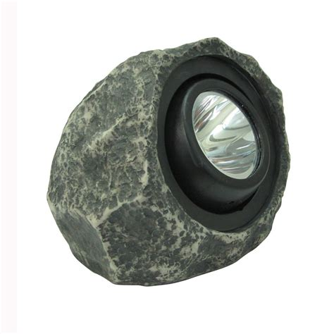 hton bay solar rock spot light the home depot canada