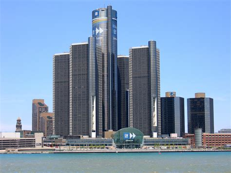 siege social ford file headquarters of gm in detroit jpg wikimedia commons