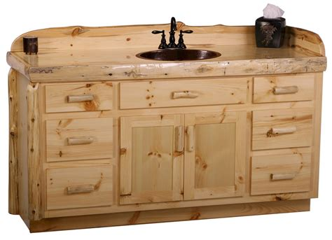 knotty pine bathroom vanity cabinets 22 wonderful pine bathroom vanities eyagci com