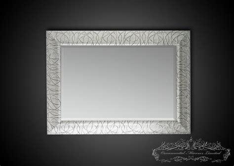 rectangular silver glitter mirrors  ornamental mirrors