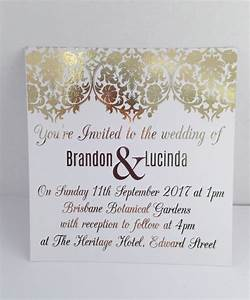 gold foil wedding invitations marina gallery fine art With foil wedding invitations sydney