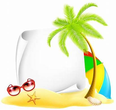 Beach Clipart Vacation Summer Deco Party Clip