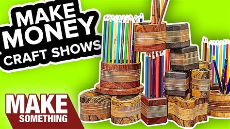 quick easy pencil holders    sell craft show