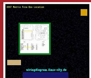 2007 Matrix Fuse Box Location  Wiring Diagram 17525