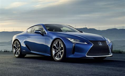 2018 Lexus Lc 500h Geneva Debut For Hybrid Performance Coupe