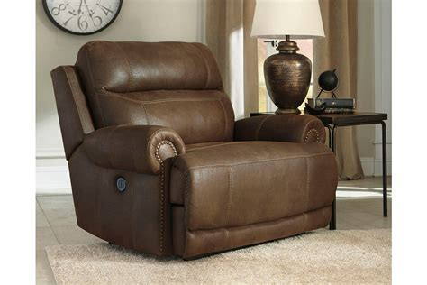 Oversized Recliners by Signature Design By Austere Oversized Power Recliner