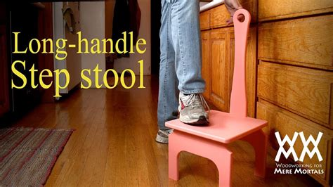 handiest step stool  easy woodworking