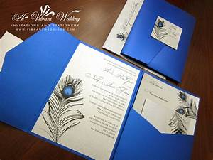 peacock feather a vibrant wedding With peacock pocketfold wedding invitations