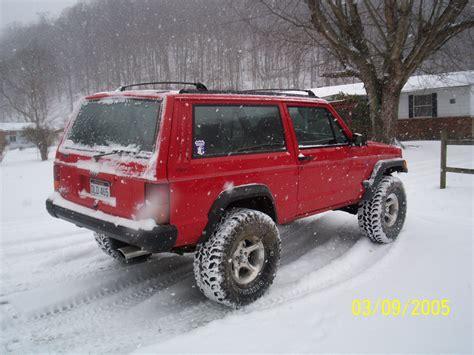 big red jeep big red xj 1996 jeep cherokee 13989959