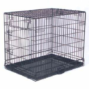 The best dog cages used cheap large and small crates for Large dog crates for sale cheap