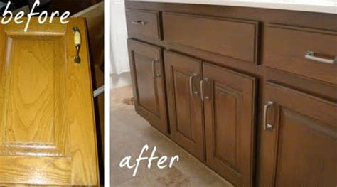 Working With What You Have: Reglazing Honey Oak   Kitchens