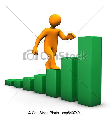 12862 career development clipart clipart of career orange character with green