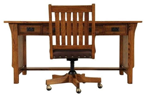 restoration hardware mission style desk chair desks