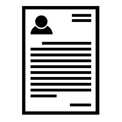 resume icon png png sle resume letters prepare and review resumes