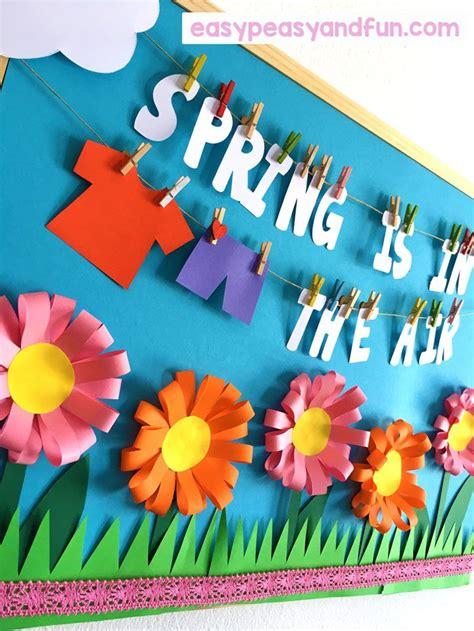 spring bulletin board ideas   classroom